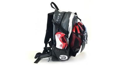 Cádomotus Skate Backpack Waterproof Zwart/Wit