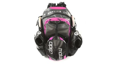 Skate Backpack Waterproof Black/Pink