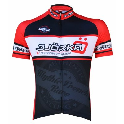 Bike shirt Mythic French Race black/red
