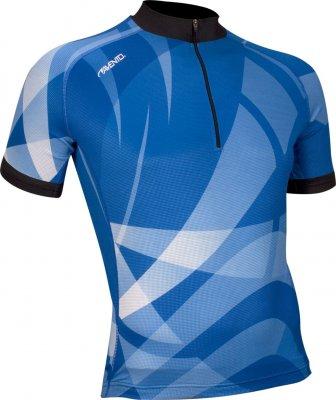 Maillot vélo manches courtes Bleu