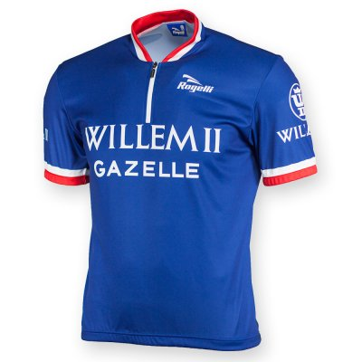 Retro Willem II wielershirt kortemouw