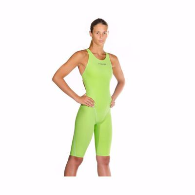 Wms Sws Liquidfire Power Knee-Open Back lime