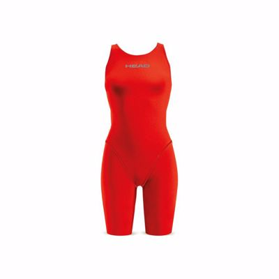 Wms Sws Liquidfire Power Knee-Open Back Red