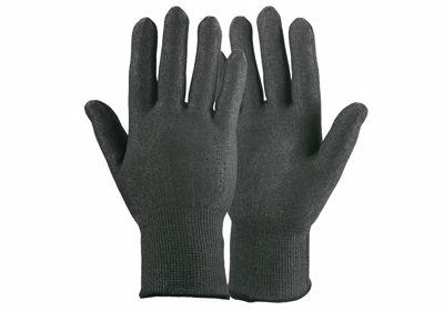 tactil snijvaste schaatshandschoen zwart