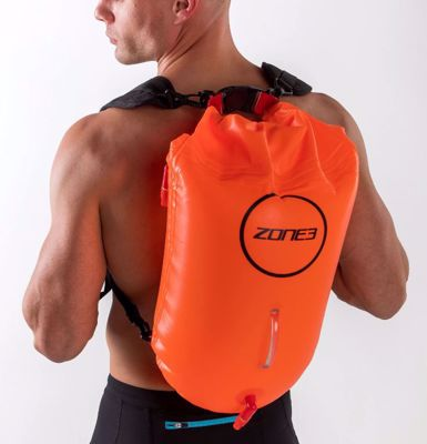 Backpack swim safety buoy&dry bag 28L