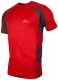T-shirt Clearwater rood/grijs