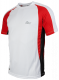 Running shirt Elba wit/rood