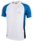 Running shirt Elba wit/blauw/zwart