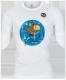 T- shirt Backpacker wit
