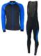Softshell winterjack + Manzano Salopet  SET Blauw/Blauw
