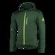 Matrix hooded vest green/black/fluor