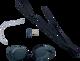 Swedisch swimgoggels noir