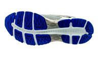 AsicsCumulus 19 glacier grey/black/directoire blue