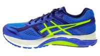 Asics Foundation 12 (2E wide) electric blueflash yellowindigo blue