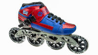 BontPursuit Skate Blauw/Rood 4x100mm