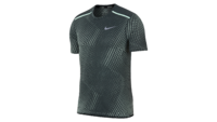 NikeBreathe Rise 365 SS deep jungle/igloo