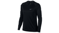 NikeDry Miler Top LS Black
