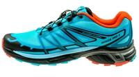 SalomonWings Pro 2 blue jay/fog blue/lava orange
