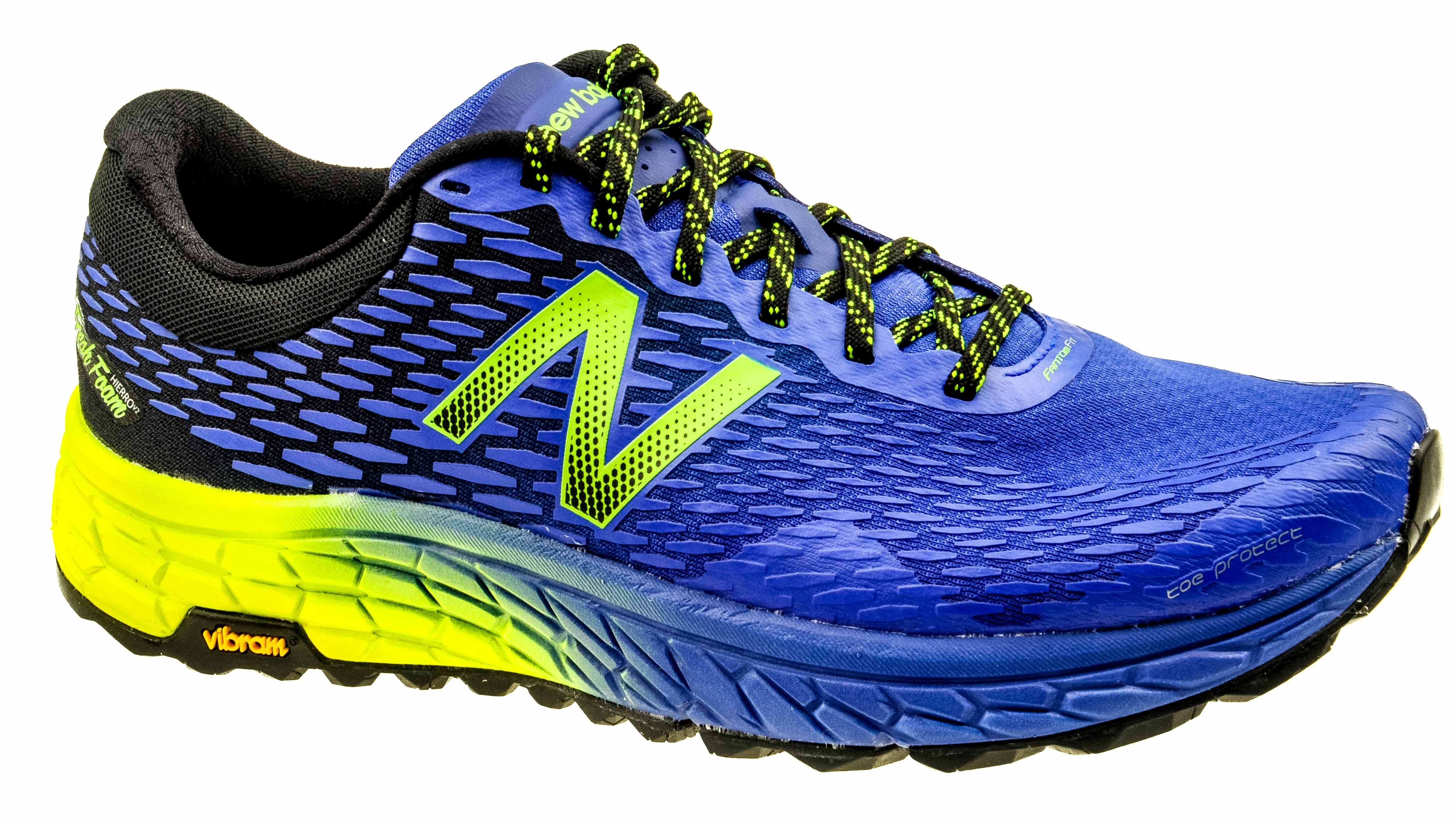 crazy price shop for original highly coveted range of New Balance Fresh Foam Hierro 2 electric-blue/uv blue/hi-lite