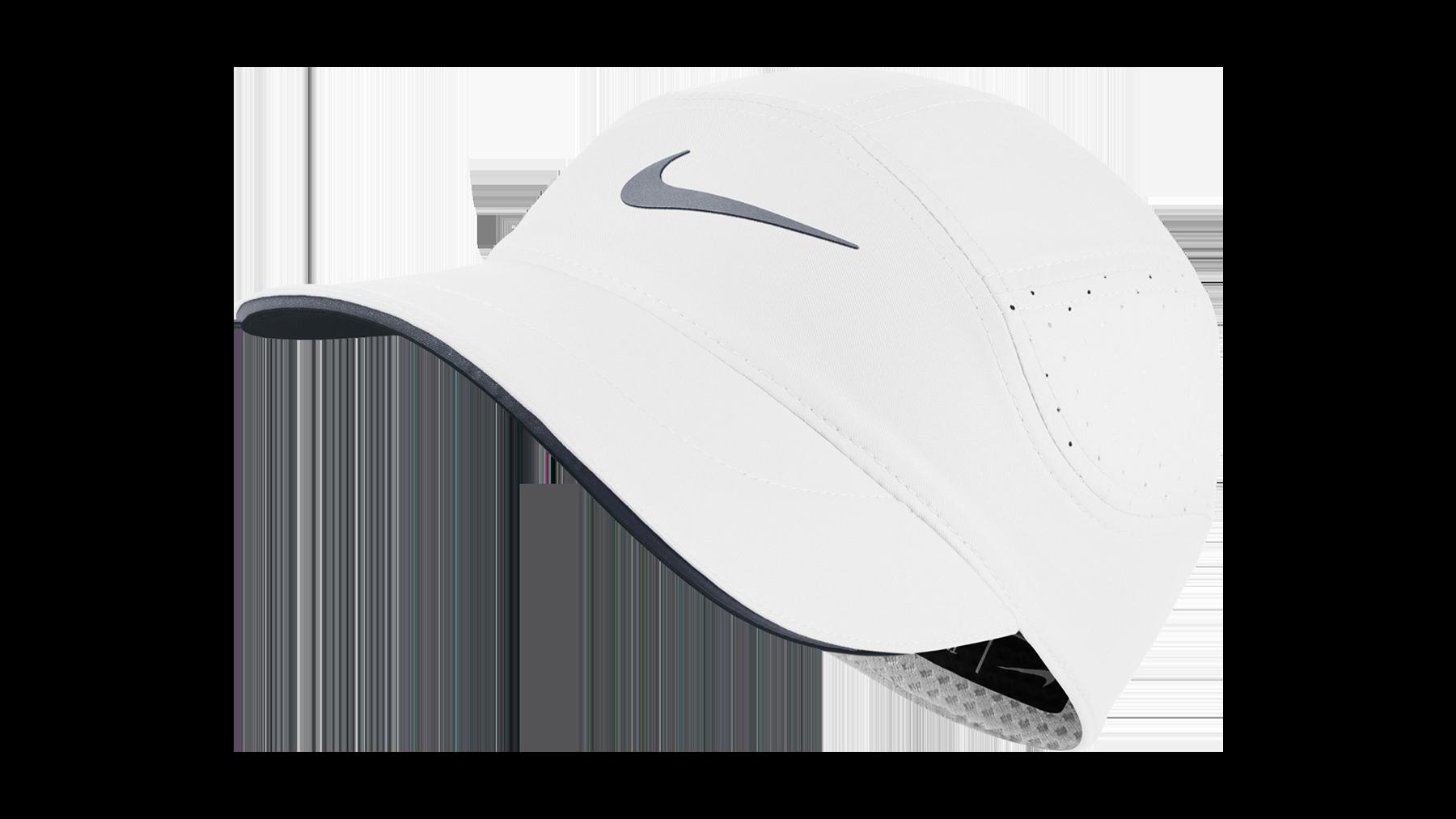Nike Dri-Fit AeroBill Running cap - white cool grey - unisex ... a658480407f3