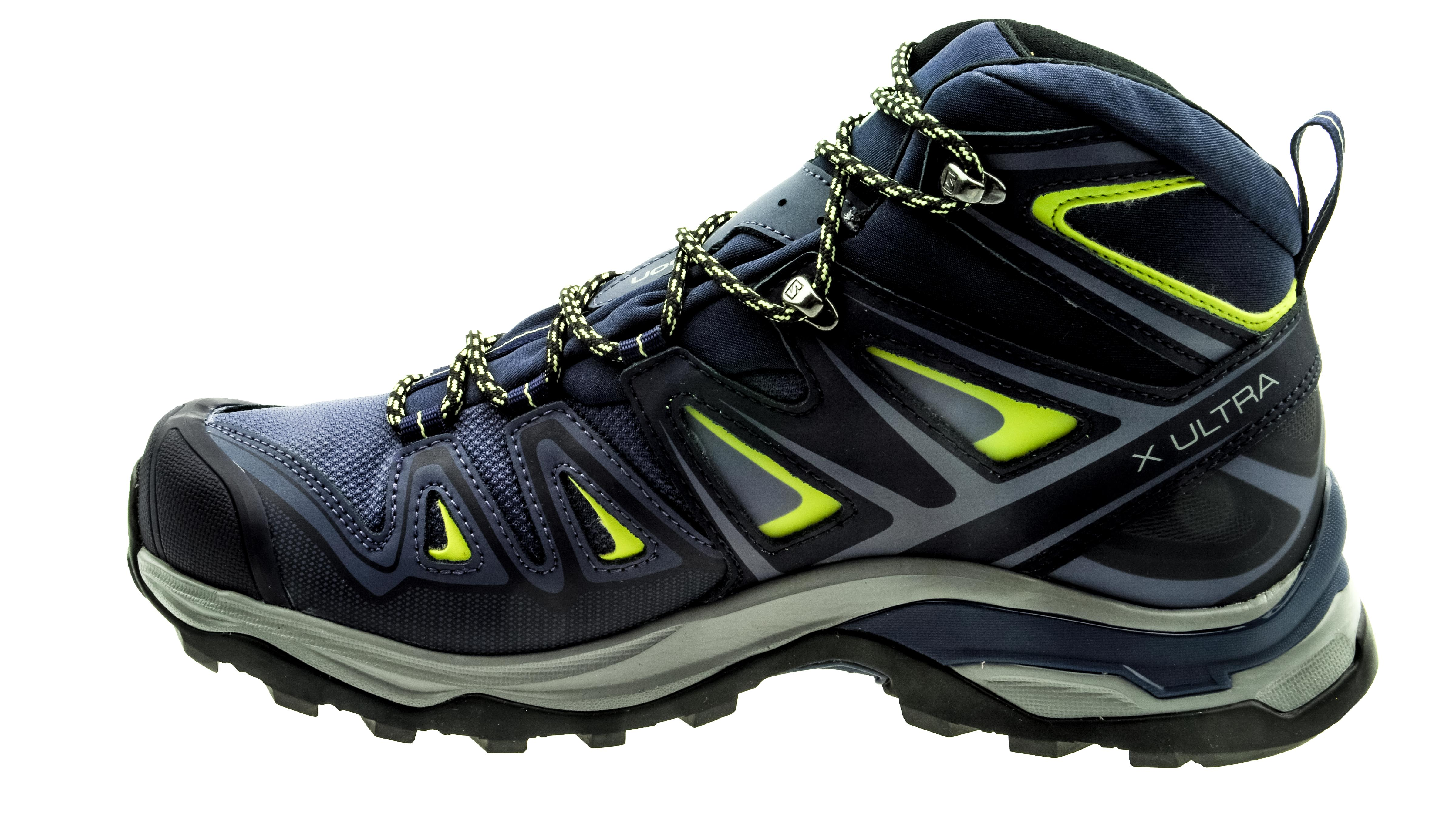 low priced f0d0e 9799c Salomon X Ultra Mid 3 GTX crown blue/evening blue/sunny lime