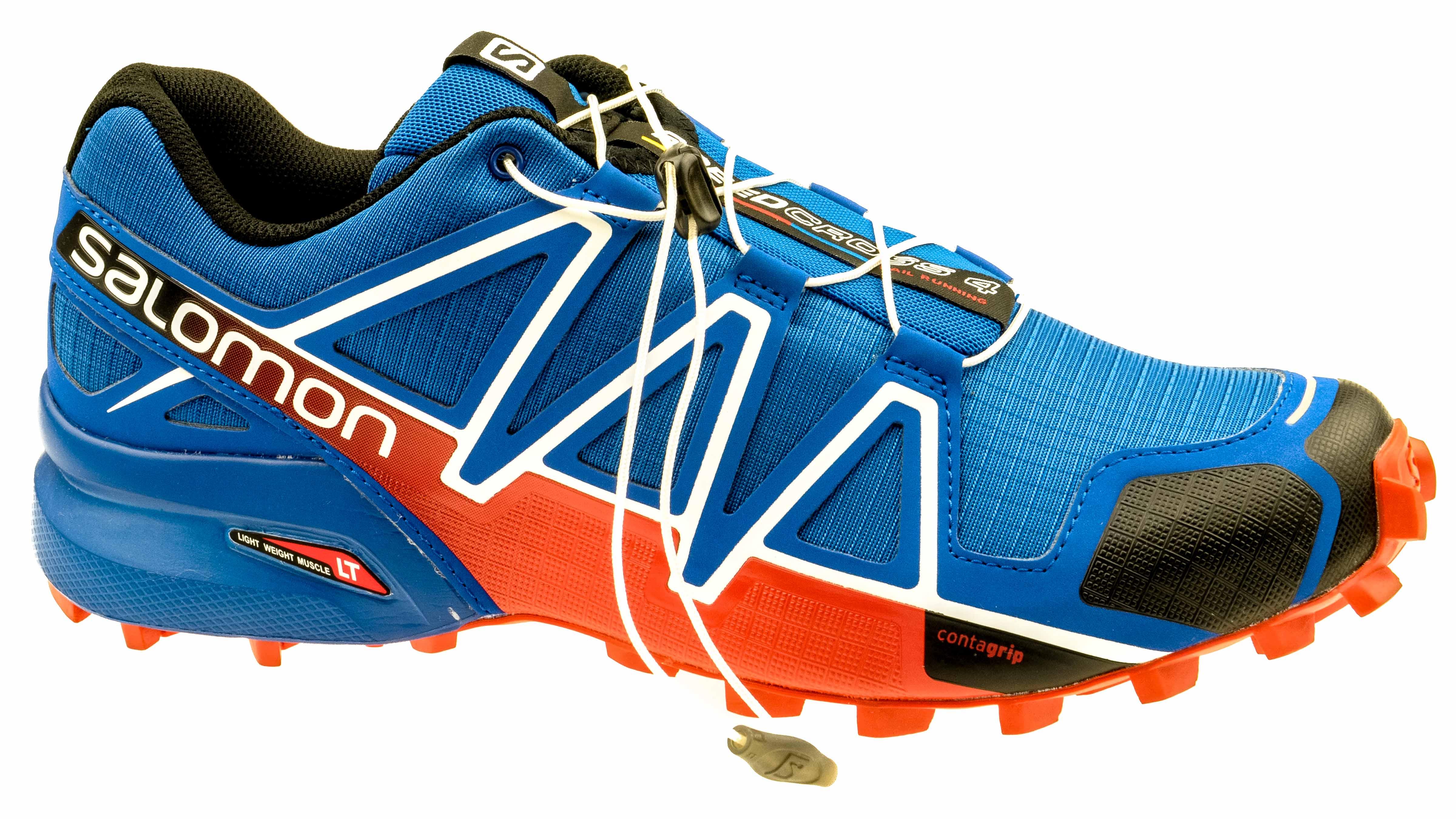 SALOMON Men's Speedcross 3 Trail Running Shoe,BlackBlackSilver Metallic X,11 M US