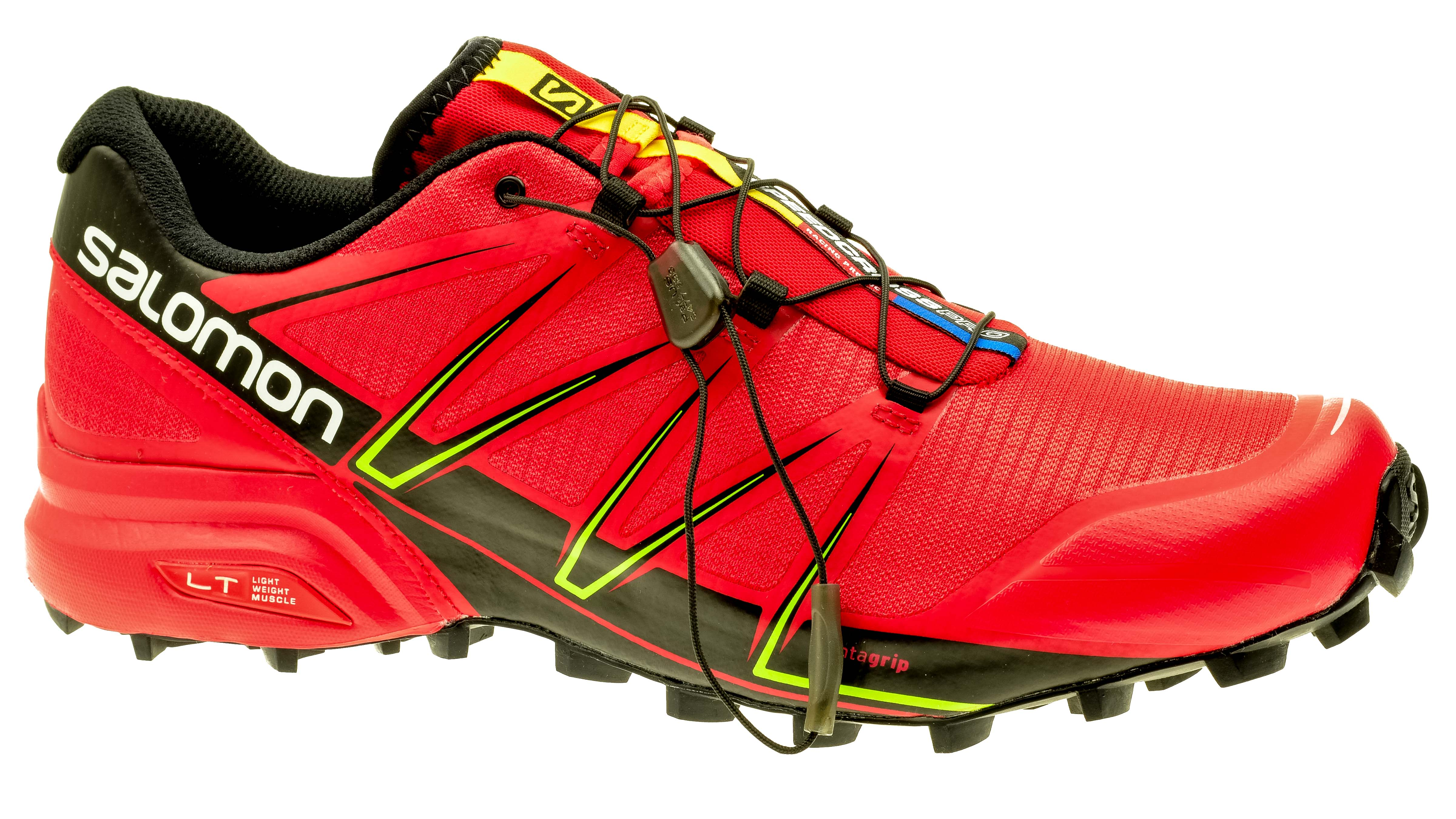 best sneakers dc61c 66301 Salomon Speedcross PRO radiant-red/black/gecko-green