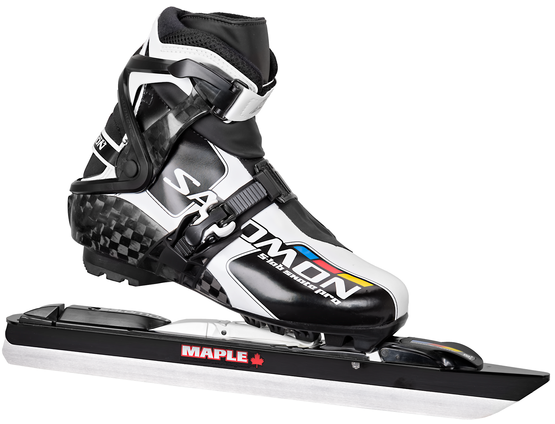 Salomon S Lab Skate Pro avec lame Maple Chrome