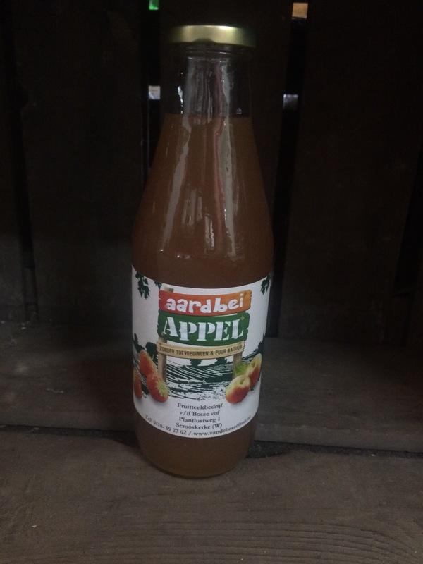 Walcherse appelsap met aardbei (0.75L)