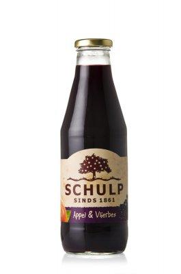 Appel-vlierbessensap Schulp (750 ml)