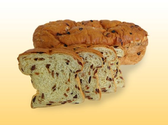 Rozijnenbrood (half)