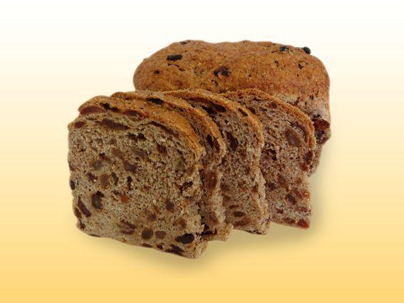 Tarwe rogge rozijnen brood