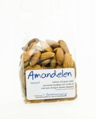 Amandelen naturel (125 gr)