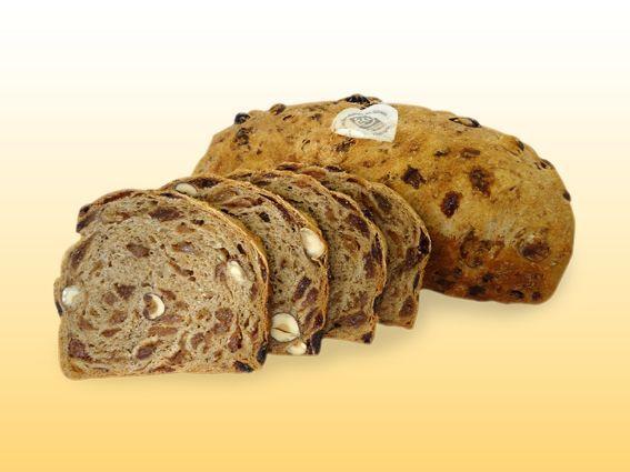 EKO wit noot/rozijnenbrood