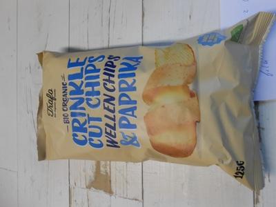 Bio Chips ribbel paprika
