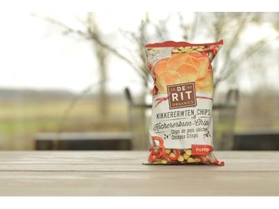 Bio kikkererwten chips paprika (75g)
