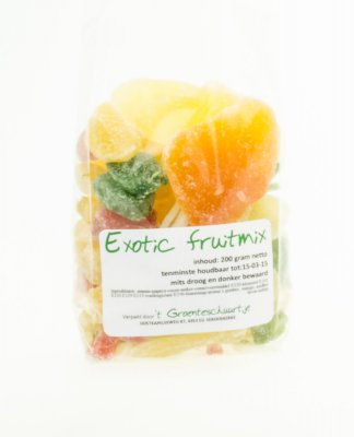 Exotic fruitmix (200 gr)