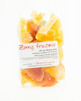 Zonnig fruitmix (200 gr)