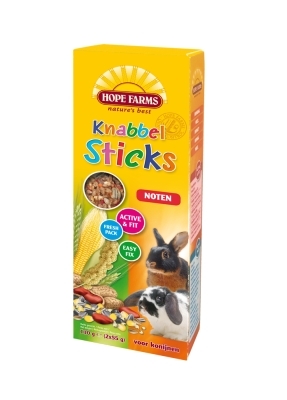 Hope Farms KnabbelStick Rabbit Noten