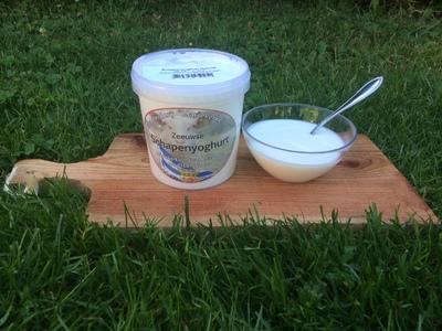 Zeeuwse Schapenyoghurt naturel (NIEUW! 0,5 L)