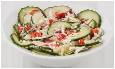 Zeeuwse komkommersalade (300 gram)