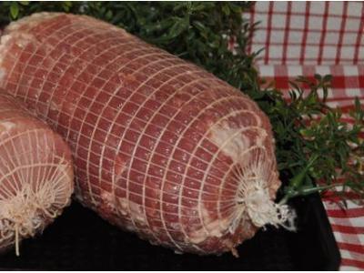 Varkensrollade (mager) (+/-1kg)
