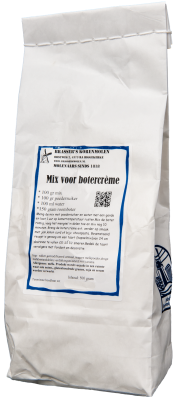 Mix voor botercreme (500 gram)
