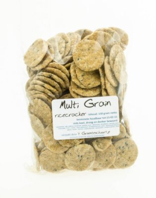 Multi Grain ricecookie (150 gr)