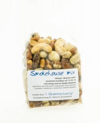 Smokehouse notenmix (125 gr)