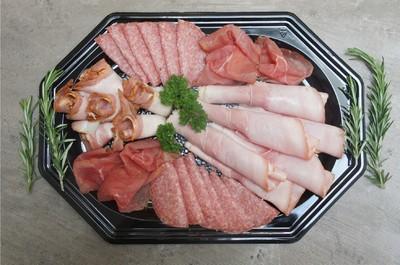 Luxe vleeswaren schotel (6 personen)