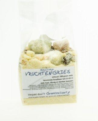 Vruchtengries (200 gram)