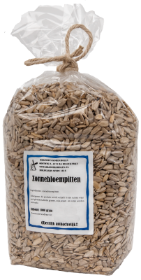 Zonnebloempitten (1000 gr)