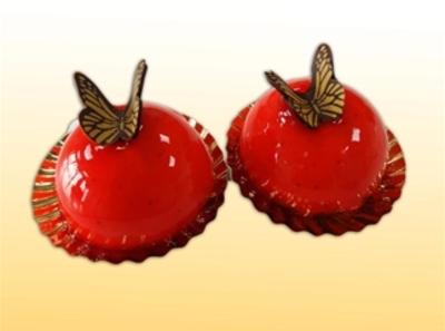 Aardbeien bolgebak