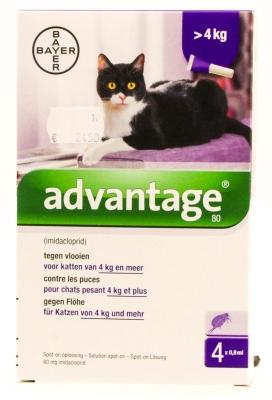 Advantage katten (>4kg)
